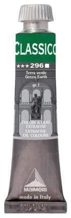 Масляная краска Maimeri Classico зеленая земля 20 мл