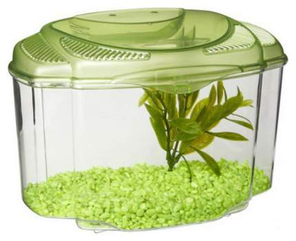 Аквариумный комплекс для рыб Hagen Marina Betta Kit Green, зеленый, 1,8 л