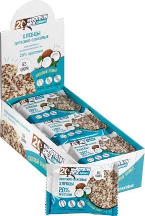 Хлебцы  протеино-злаковые ProteinRex кокосовый крамбль 12 штук по 55 г
