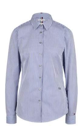 Блуза женская Tommy Hilfiger синяя 48