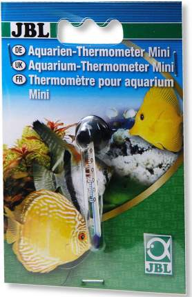 Термометр для аквариума JBL Aquarium Thermometer Mini миниатюрный, на присоске