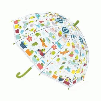 Зонтик Djeco Лягушата прозрачный