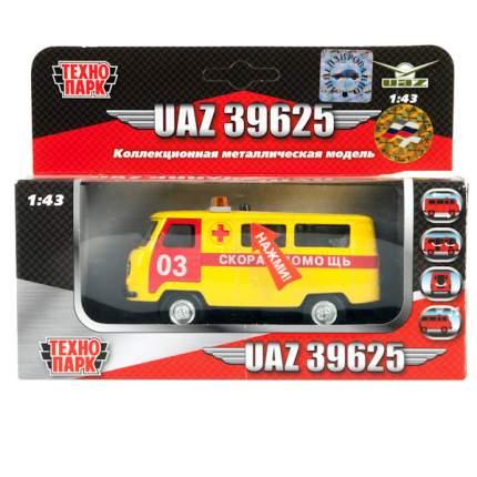 Машина скорой помощи Технопарк UAZ 39625 1:43