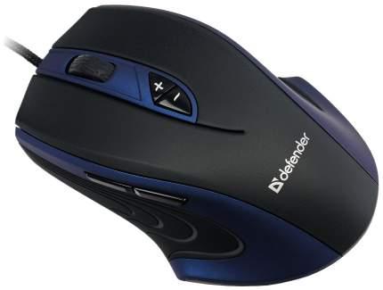 Игровая мышь Defender Warhead GMX-1800 Black (52724)