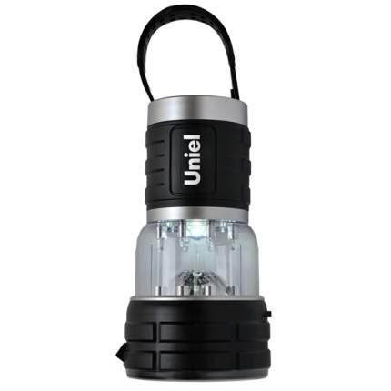 Туристический фонарь Uniel S-TL010-B черный/серебристый, 2 режима