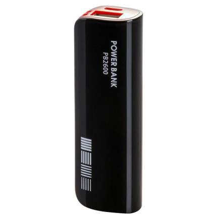 Внешний аккумулятор InterStep PB2600 2600 мА/ч (IS-AK-PB2600UBR-000B20) Black/Red