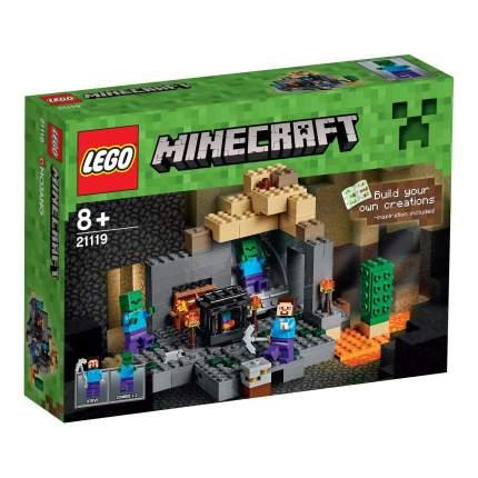 Конструктор LEGO Minecraft Подземелье (21119)