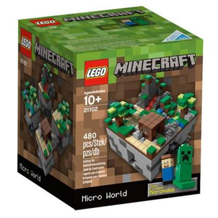 Конструктор LEGO Minecraft Микромир: лес (21102)