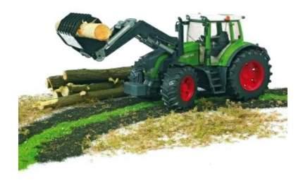 Трактор Bruder Fendt 936 vario с погрузчиком