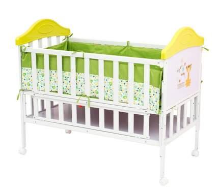 Кроватка BabyHit Sleepy extend-green 120x60