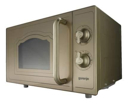 Микроволновая печь с грилем Gorenje MO4250CLG gold