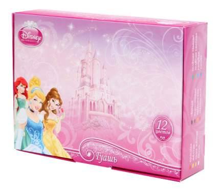 Гуашь Играем вместе Disney Принцесса 12 цветов