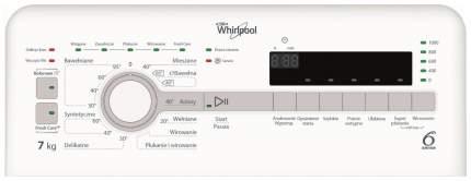 Стиральная машина Whirlpool TDLR70110