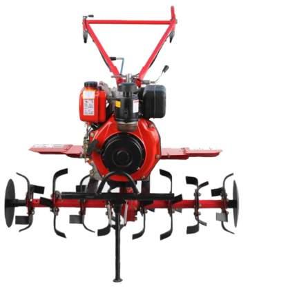 Дизельный мотоблок Herz DPT1G-105E 5,9 л.с