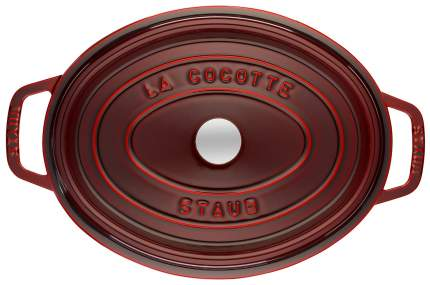 Кокотница Staub 1102987 с крышкой 29 см 4,25 л Grenadine