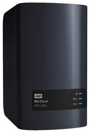 Сетевое хранилище данных Western Digital My Cloud EX2 Ultra WDBSHB0080JCH-EEUE