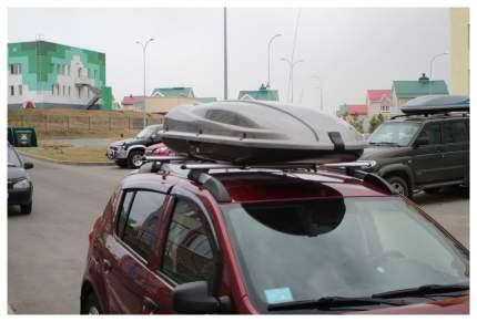 Бокс на крышу автомобиля ATLANT Dynamic 434 8554 434л серебристый металлик 171х73х36