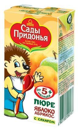 Пюре фруктовое Сады Придонья Яблоко-абрикос с 5 мес 125 г