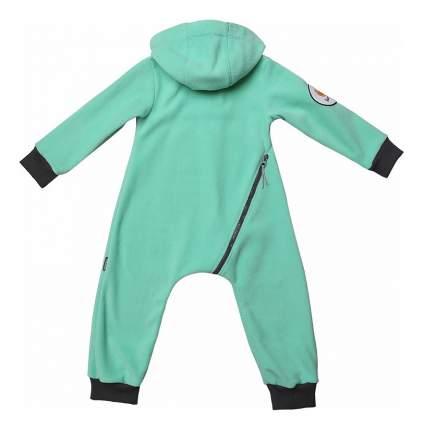 Комбинезон детский Bambinizon Флисовый Мята 56 размер