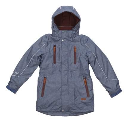 Куртка-парка atPlay для мальчика синяя р.140