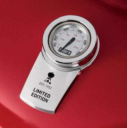 Гриль угольный Weber Master-Touch GBS Limited Edition, 57 cм, красный