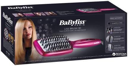 Расческа-выпрямитель Babyliss Liss Brush 3D HSB100E Pink