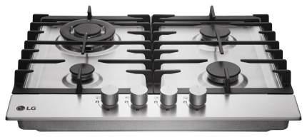 Встраиваемая варочная панель газовая LG HU641DAG Silver