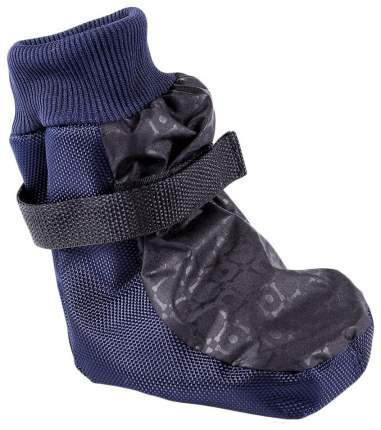 Обувь для собак OSSO Fashion размер M, 4 шт красный, синий