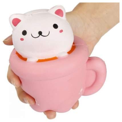 Игрушка-антистресс 1Toy М-м-мняшка Squishy Кошка в чашке Т12415