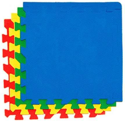 Мягкий коврик-пазл Eco cover Транспорт2 с кромками