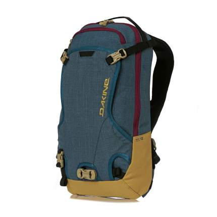 Рюкзак для лыж и сноуборда Dakine Women's Heli Pack, chill blue, 12 л