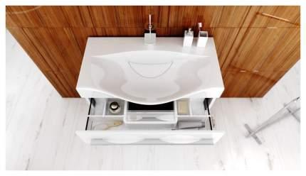 Тумба для ванной Aqwella Mil,01,08/2n/W без раковины