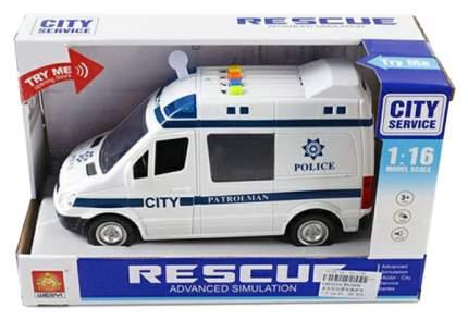 Инерционная машинка WenYi Полиция (свет, звук), 1:16