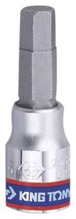Торцевая головка с вставкой битой KING TONY 203506