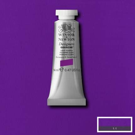 Гуашь Winsor&Newton Designers Gouache светло-фиолетовый 14 мл
