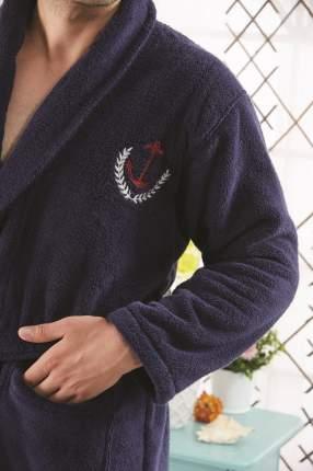 Банный комплект с халатом Karna Marine Цвет: Синий (xxL)