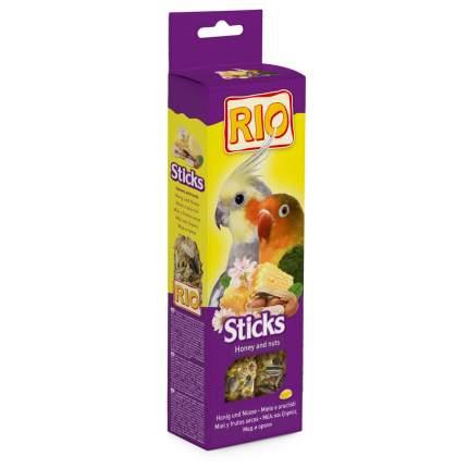 Лакомство для птиц RIO Палочки для попугаев с орехами и медом 2 х 90 гр., 0,18 кг
