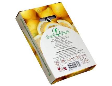Ароматические свечи Омский Свечной лимон 3,8х1,6 см 001803-свеча