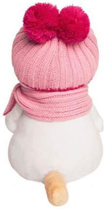 Мягкие игрушки животные Budi Basa Ли-Ли в розовой шапке с шарфом 24 см LK24-022
