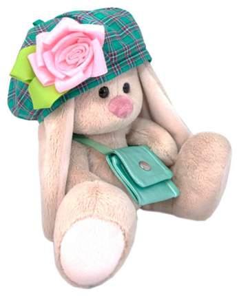 Мягкая игрушка BUDI BASA Зайка Ми в берете и с сумочкой, 15 см