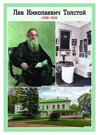 Литература в школе, Творчество Л,Н, Толстого, 1-11 классы: 12 плакатов с методическими ...