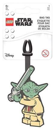 Бирка для багажа LEGO Star Wars Yoda 52222