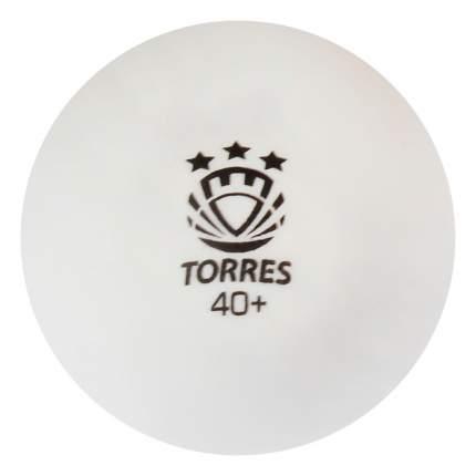 Мяч для настольного тенниса Torres Profi 3 6 шт.ук, белый