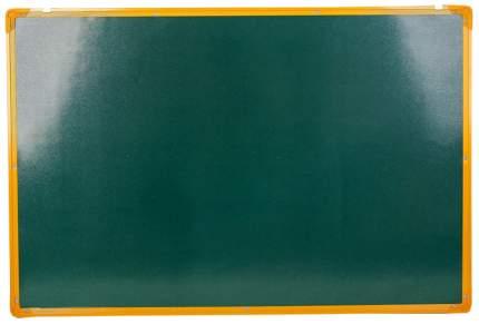Доска двусторонняя, магнитно-маркерная, с полочкой, 90 × 60 см, золотая рама Sima-Land