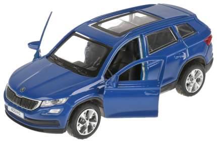 Коллекционная модель машины Технопарк KODIAQ-BU
