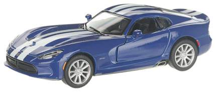 Машина металлическая SRT Viper GTS, масштаб 1:36, открываются двери, инерция Kinsmart