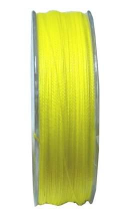 Леска плетеная Mikado Nihonto Fine 0,14 мм, 150 м, 9,7 кг fluo