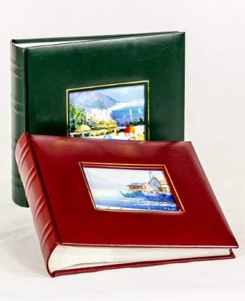 "Фотоальбом ""Картина маслом"" обложка из эко-кожи, на 200 фото 10х15 см, кармашки"