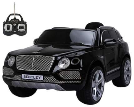 Электромобиль Shenzhen Toys Bentley Bentayga со звуковыми и световыми эффектами черный