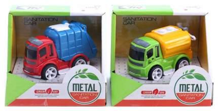 Инерционная машина Junfa toys Мусоровоз 0783-59 Разноцветный